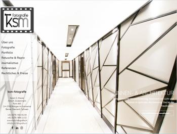 Referenz - ksm-fotografie - Webseite - akg Design